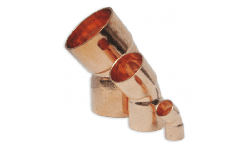 "3/4"" x 45� COPPER ELBOW"