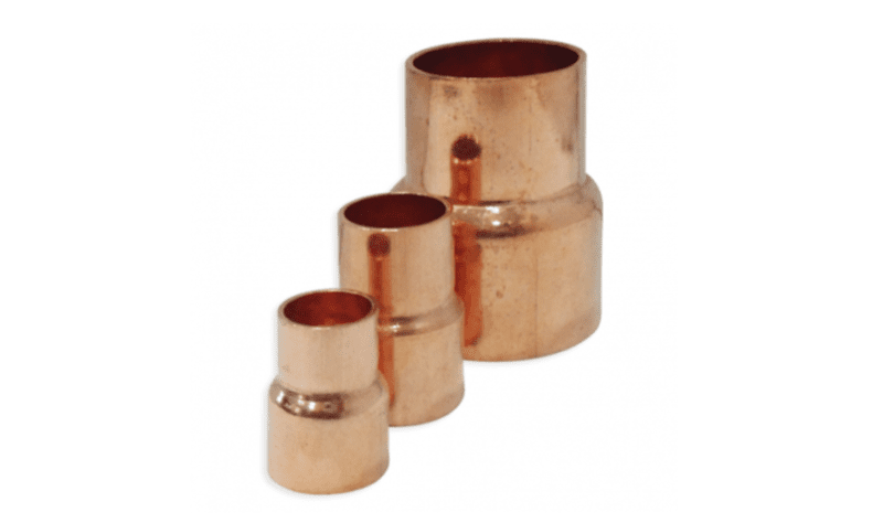 "COPPER REDUCER 7/8"" - 5/8"" DIAMETER"